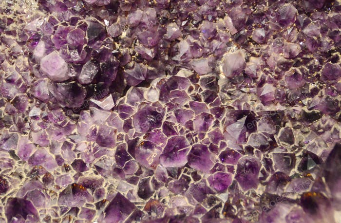 Natural background - amethyst
