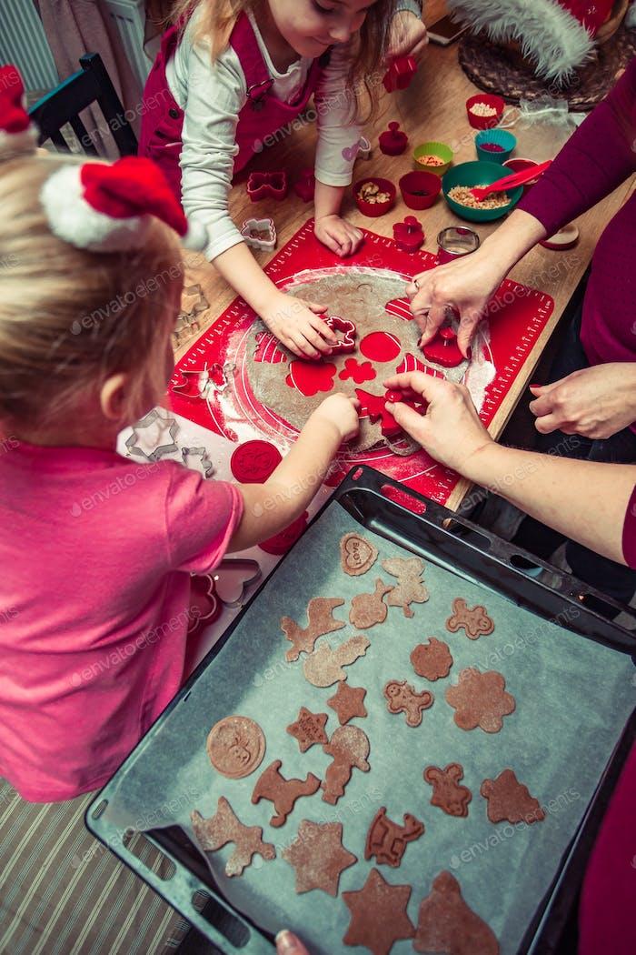 Backen Weihnachtskekse