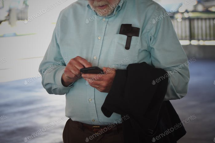 Using phone