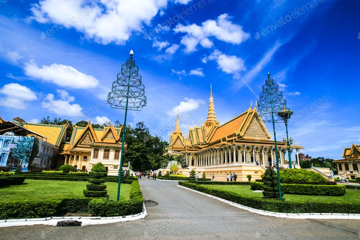 Royal palace, Kingdom of Cambodia