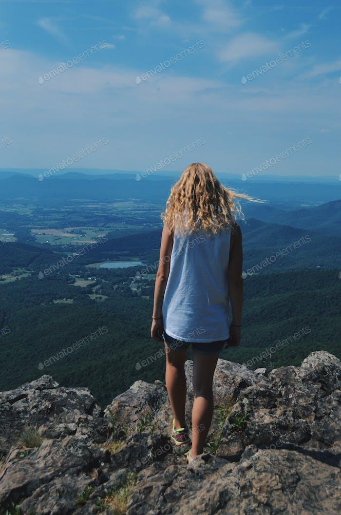 Virginia cliffs