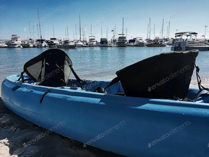 Kayak on Mission Bay, San Diego