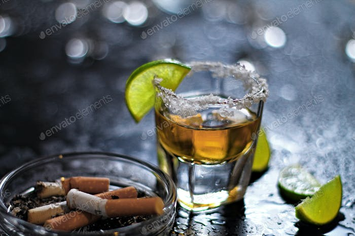 Drinking and smoking the unhealthy behavior