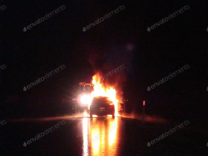 Fahrzeug Feuer