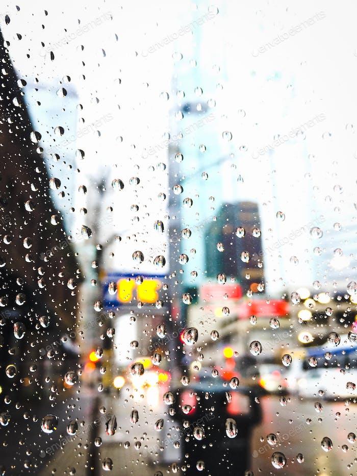 Rainy Foreground.