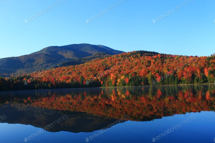 This is Hart Lake in New York's Adirondack Mountains No edit Taken with a Canon T3 55mm Lens thanks