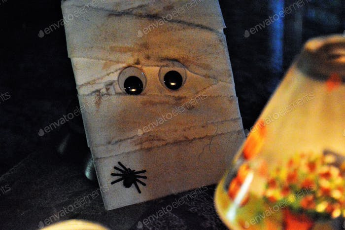 Halloween-Mumie.