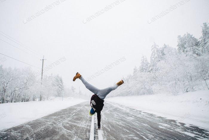 Sibirien, Winter, Freiheit,