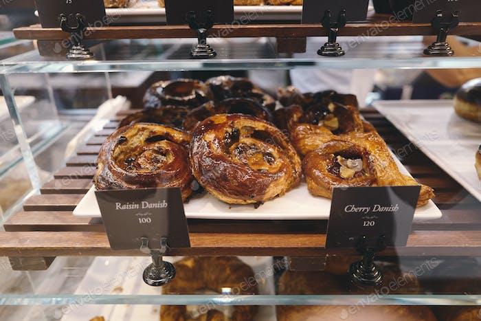 Bäckerei auf Regal