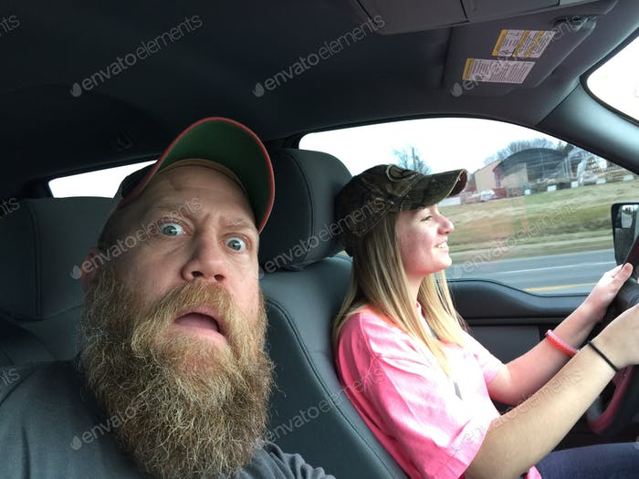 New driver scares dad
