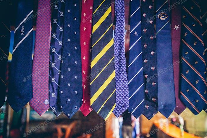 Коллекция галстуков