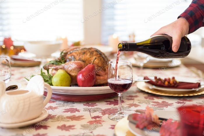Pinot Noir and turkey for holiday dinner  ✨Nominated✨
