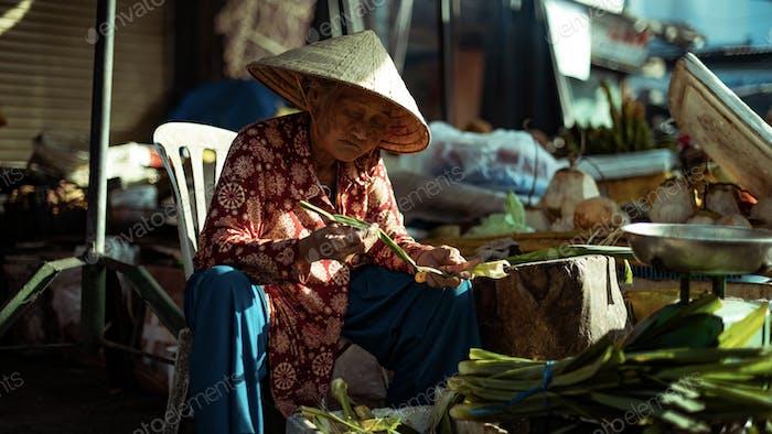 Menschen von Vietnam