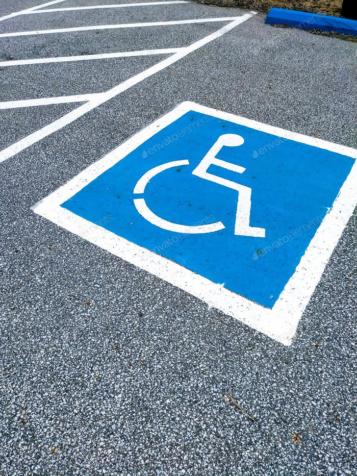 Handicapped & Disabled Wheelchair Accessible Sign