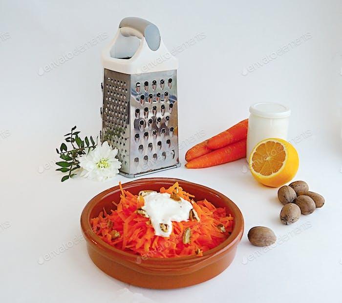 Nominiert!! Gesunde Ernährung - Karottensalat
