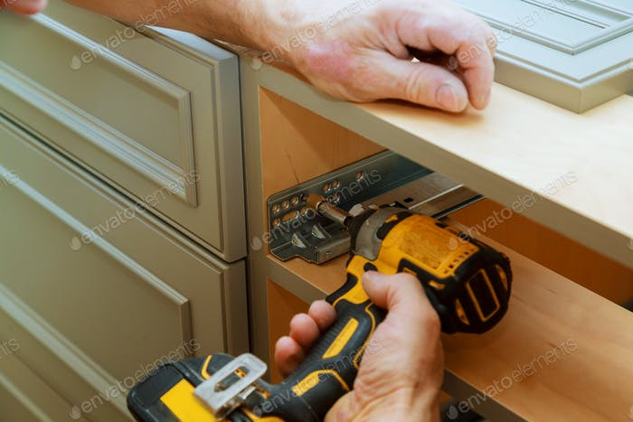Adjusting fixing cabinet door hinge adjustment on kitchen cabinets