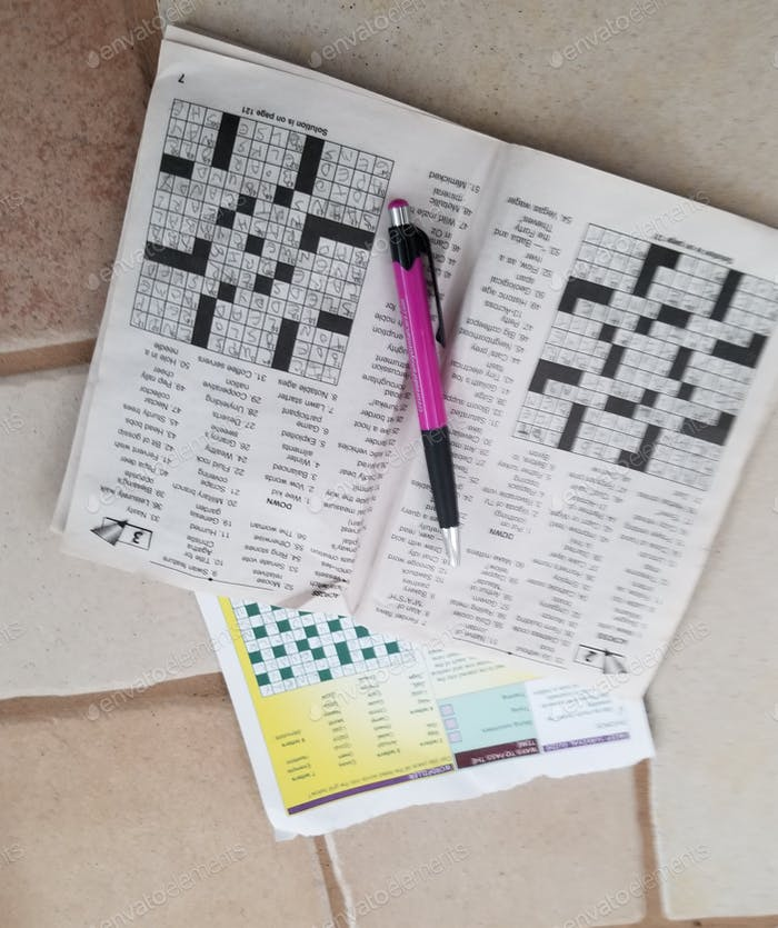 December 21st is National Crossword Puzzle Day