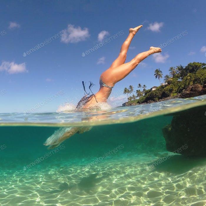 Nothing like diving in the ocean!