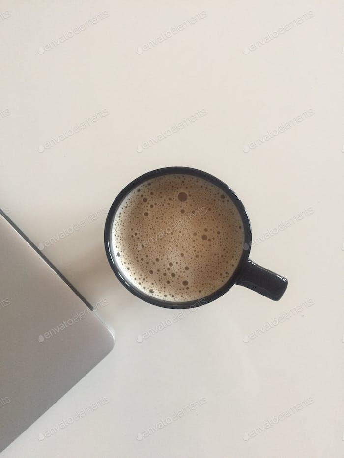 Kaffee und Mac