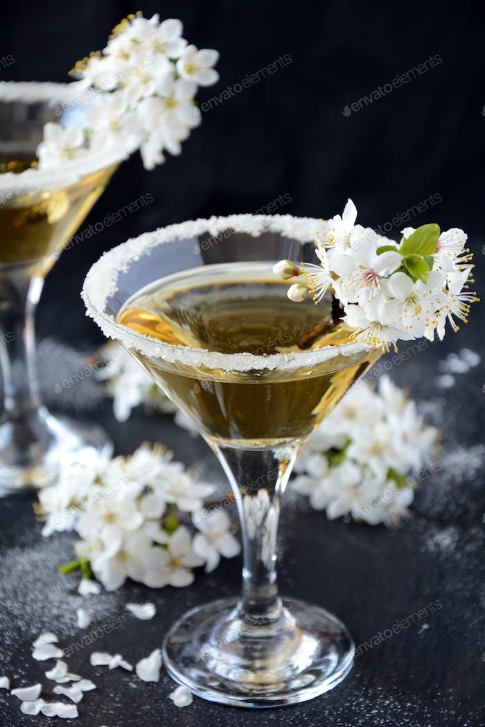 Floraler Martini