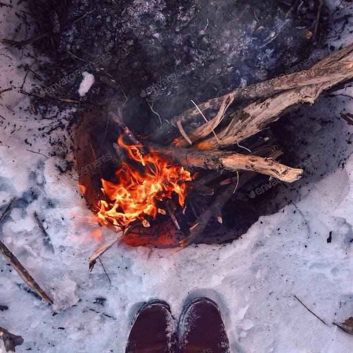 Februar warm
