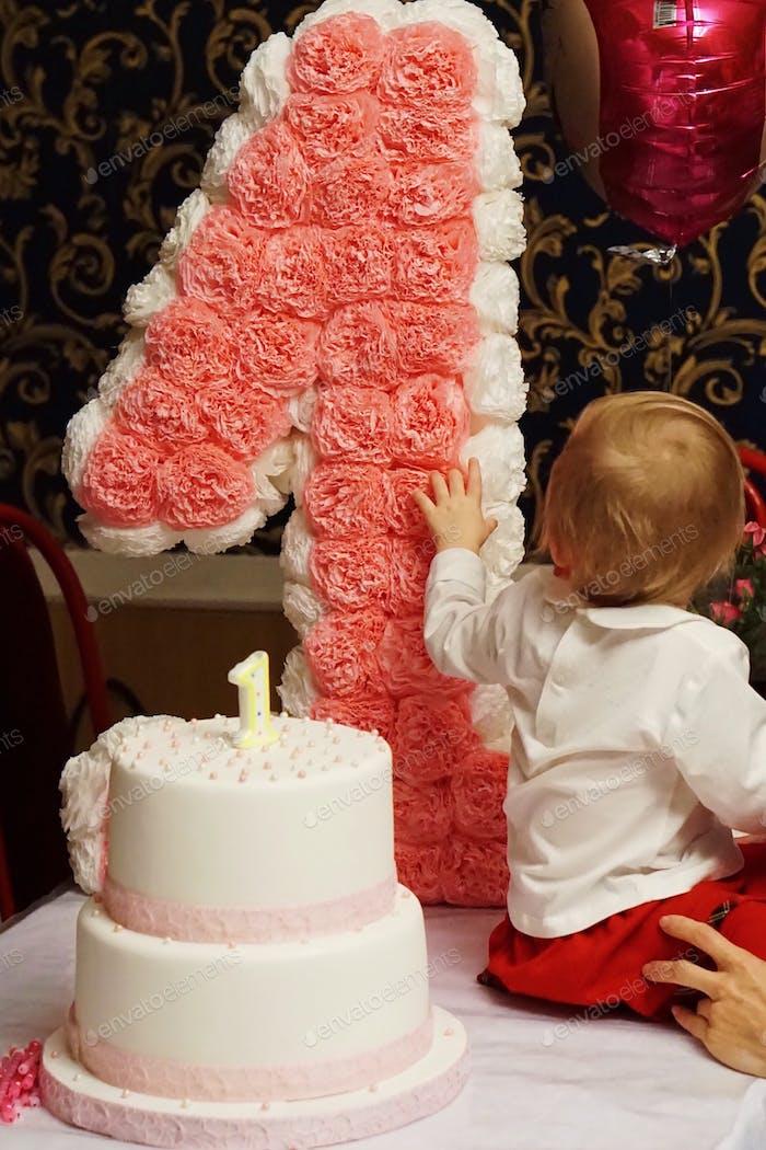 First baby birthday 🎂  Nominated!