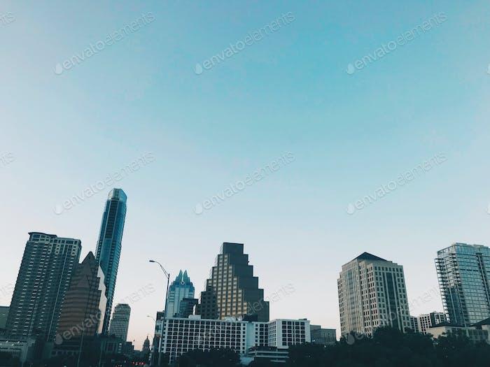 Austin TX Skyline
