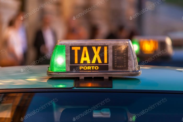 Taxi in Porto (nominated on Oct 30)