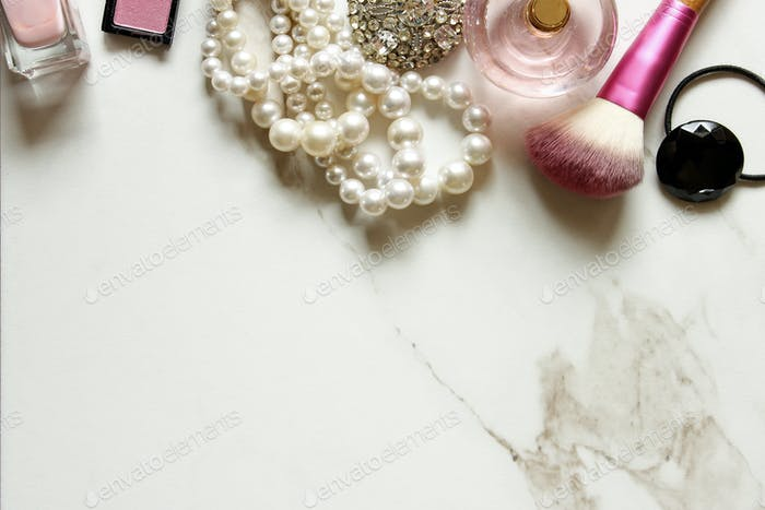 Chic make up counter