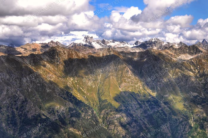 Greatness of the Caucasus Mountains