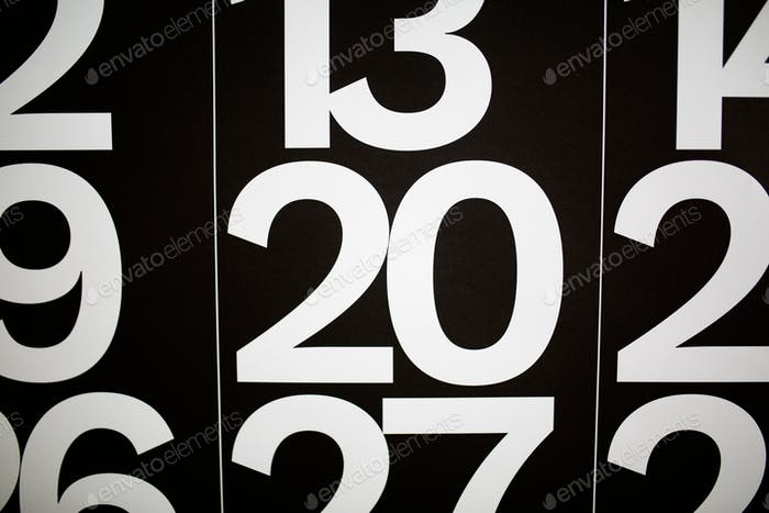 the number 20