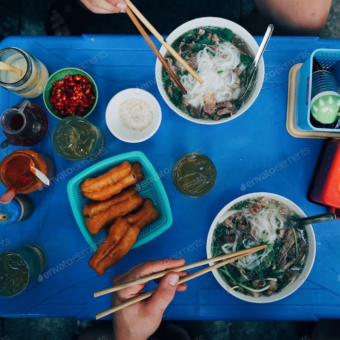 Pho - Breakfast in Vietnam