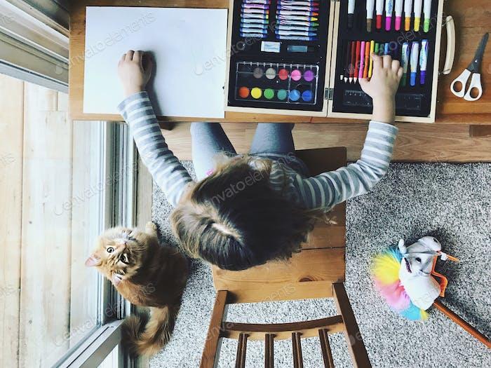 Haustiere und Kunsthandwerk