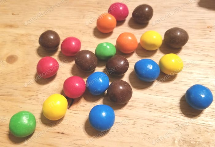Sweets! Candy! Colorful Candy!