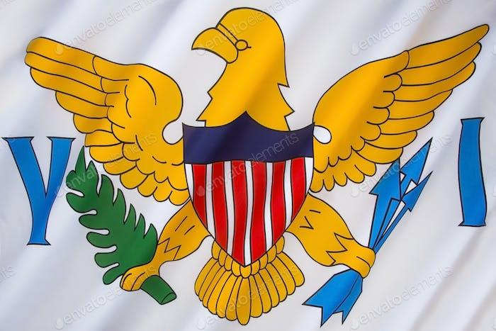 Bandera de las Islas Vírgenes de los Estados Unidos