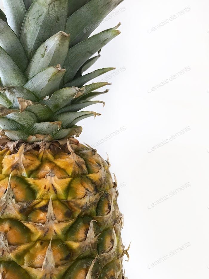 Pineapples burst