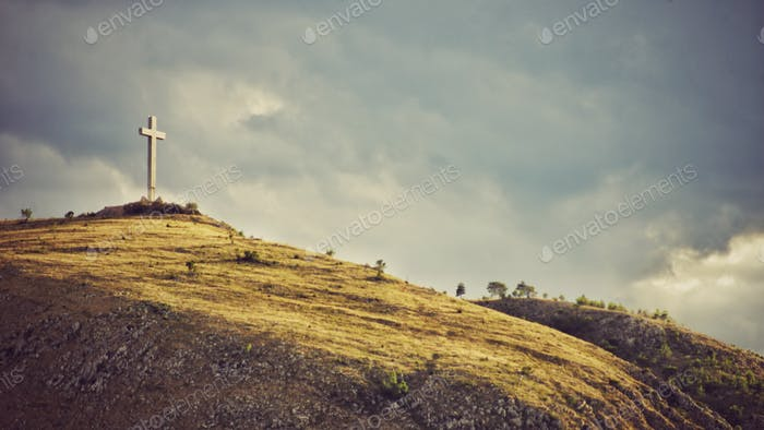 Auf dem Hügel