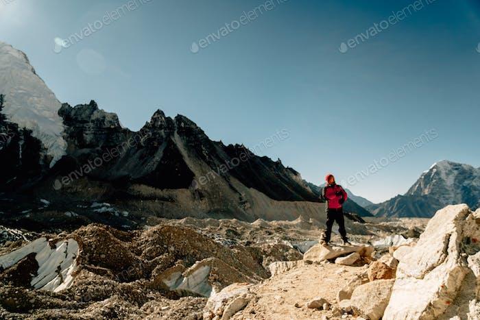 trekking to Everest