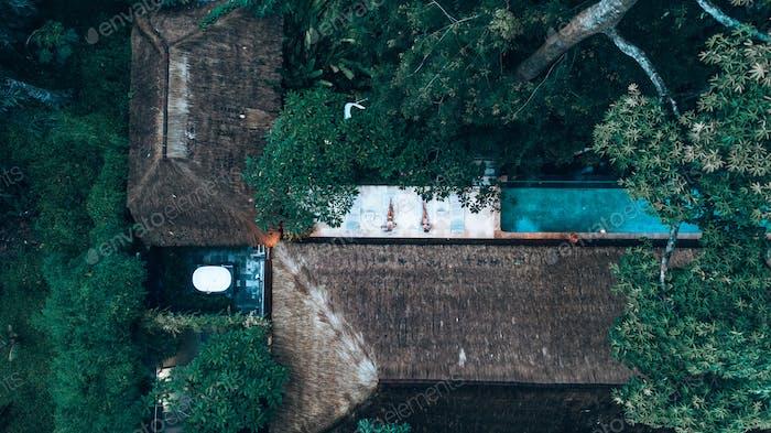 Bali villa relaxation