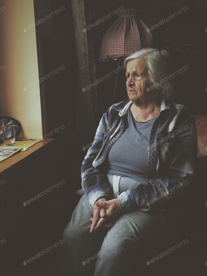 My model-Grandma