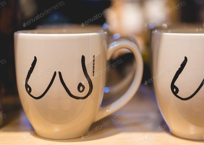 Breast Mug