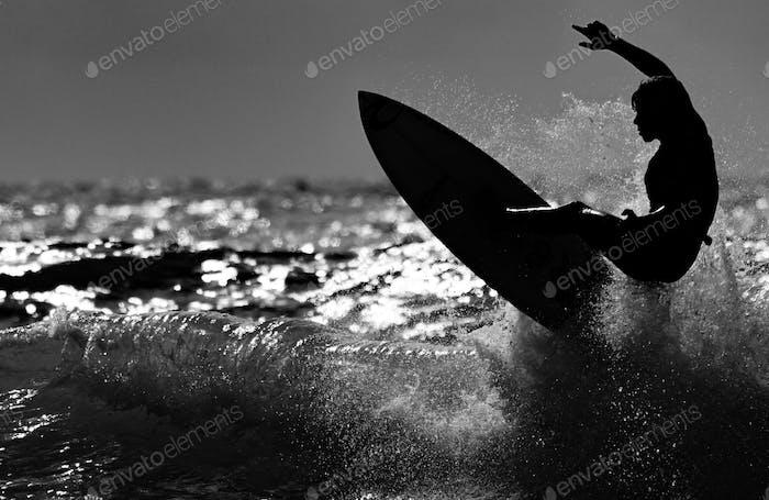 Surfer Surfen Surfen