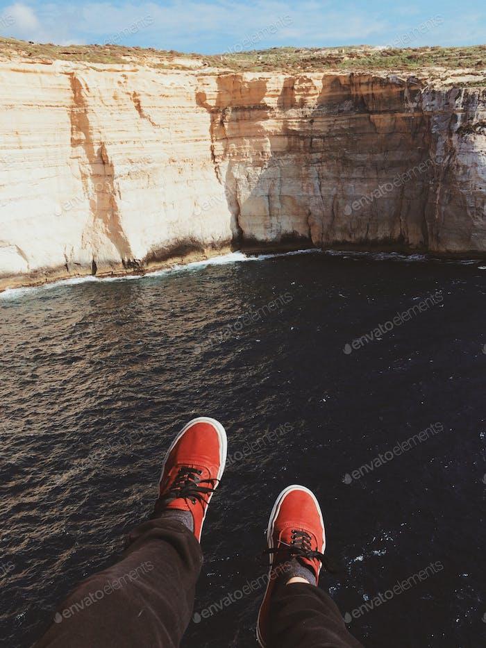 Vans And Cliffs