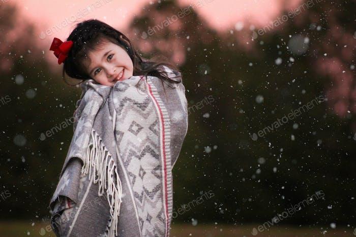 mi pequeño ángel de la nieve ❤️