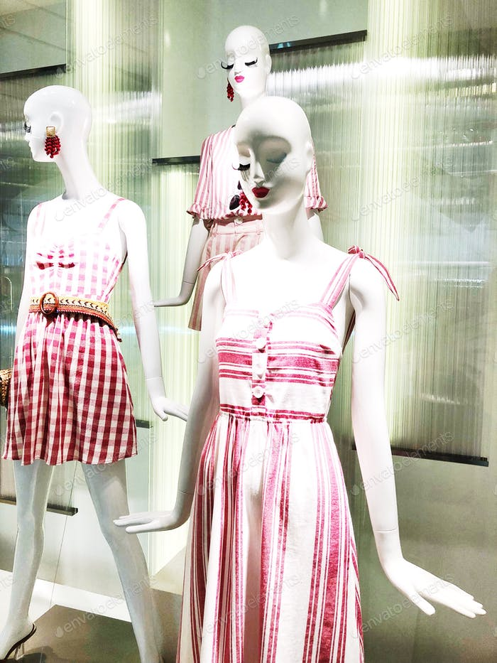 💐✨📷 NOMINATED 📷✨💐  Fashionable mannequins. Womenswear. Shop window display.