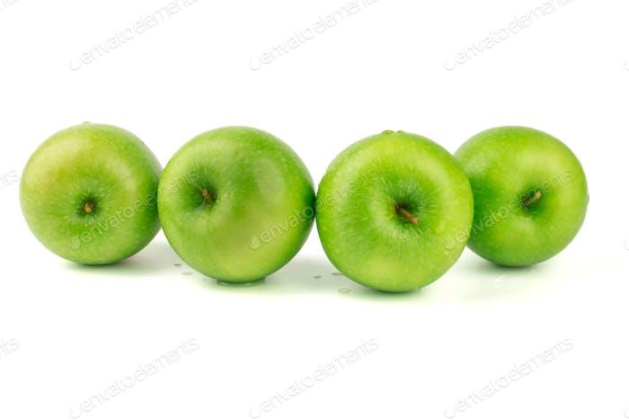 Green apple isolate