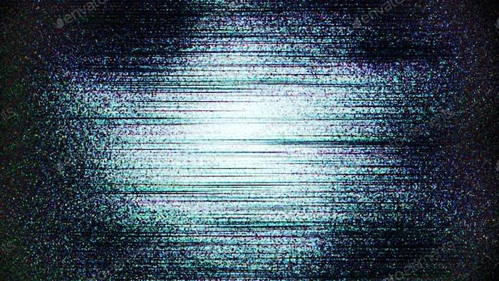 Ruido blanco viejo grunge sin señal de TV Glitch 90 textura.