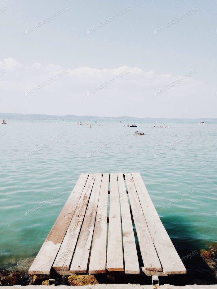 Balaton lake!