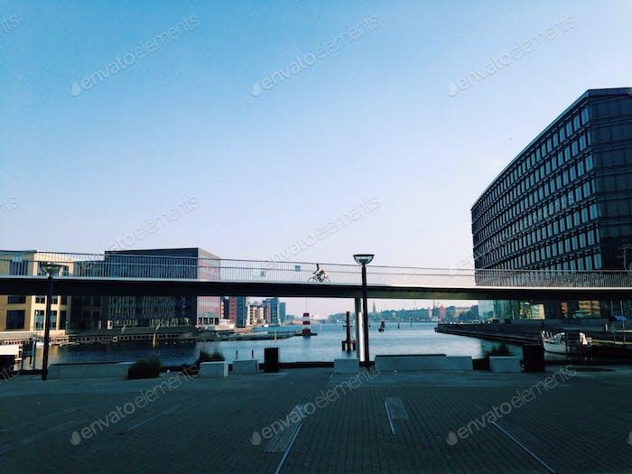 Urban scene in Copenhagen, Denmark