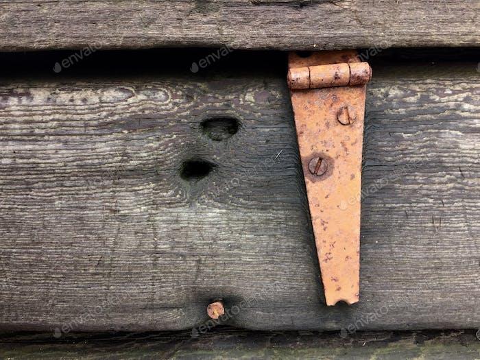 Rustikale Holz-Hardware Scheune
